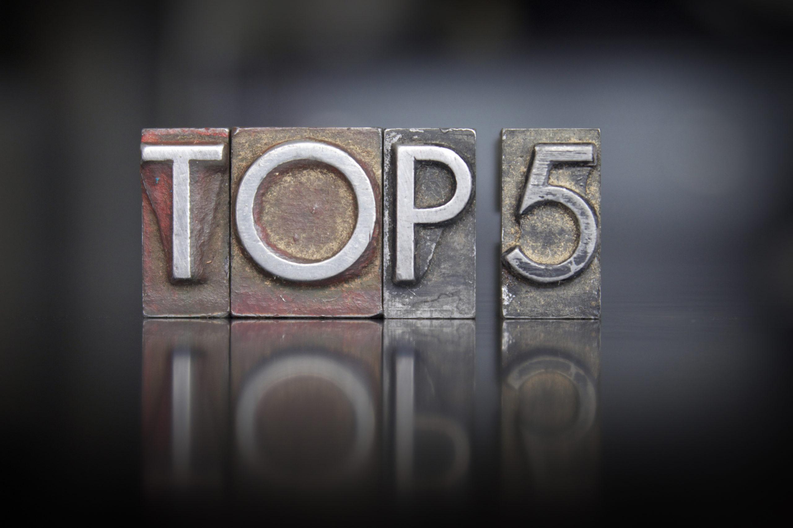 Top 5 Salesforce Apps